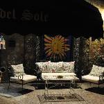 Osteria del Sole - salotto esterno