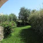 il giardino privato della camera