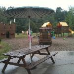 part of play area next to the shop