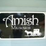 The Amish museum is located here as well