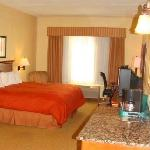 Our Large King size Bed rooms have plenty of room to relax in.