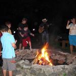 bonfire & marshmallow roast