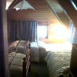 Habitación cuádruple (cabaña de 8)