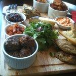 lovely platter to share