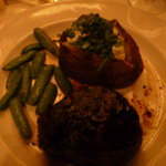 11 oz. Filet Mignon cooked perfectly!