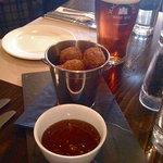 fried haggis - yum