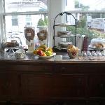 Breakfast area....