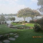 Backyard at Inn