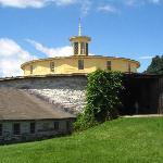 The round stone barn