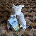 Towel Art Bear