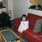 Couch & Kitchenette(behind)