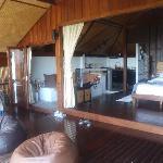Inside Villa 1