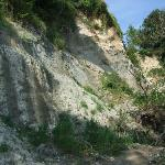 """The """"road"""" to the chalk cliffs"""