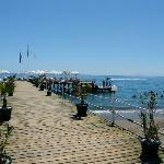 Jetty and Sun deck - get there early!
