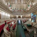 La ricostruzione del primo Senato d'Italia - the first italian Senate Halll