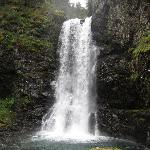 The waterfall at Humpy's Cove