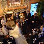 Wedding in the Lobby