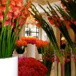 AMAZING flowers all through the hotel by Jeff Leatham