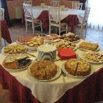 La colazione fatta in casa.......