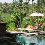 Beautiful pool and views