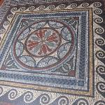 Mosaic in Entrance hall of the Fitzwilliam Museum