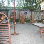 Courtyard with Local Artwork