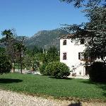 Villa Marta and surrounding hills