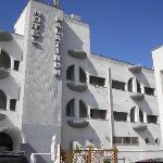 Hotel Palatinum, ss.Jonica 106, Prospetto principale