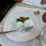 the smallest mozzarella ever for 12 euros!!