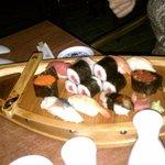 Sushi Sampler Boat
