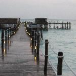 The Jetty is most incredible and a HUGE feature of ZALU