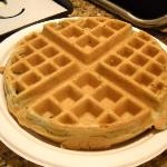 make-your-own waffle breakfast