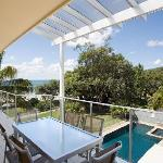 View from 2 Bedroom Beachfront Apartment