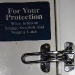 Latch your door!