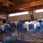 La sala colazioni/ristorante