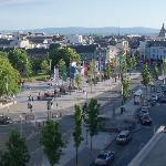 view on Eyre Square