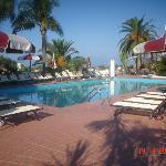Piscina hotel Baia del capo