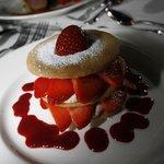 East Fife strawberry shortcake