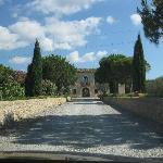 Auffahrt zum Borghetto