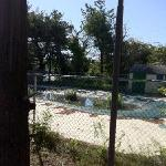 "The ""seasonal"" pool in mid August."