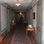 Upstairs corridor, Hotel Weisshorn