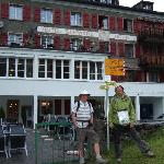 Steve and Iain, Hotel Schwarzhorn, 28 July 2011