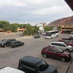 Blick aus dem Motel -1. Stock