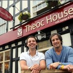 Simon & James welcome you to Theoc House