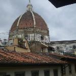 Il Duomo di Firenze dalla finestra della nostra camera!