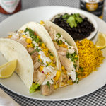 Friday Blue Plate: Fish Soft Tacos