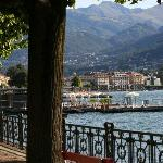 Walk or cycle route to Lugano central