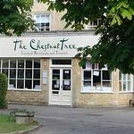 Entrance to Chestnut Tree Tea Rooms