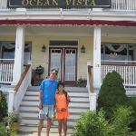 Front of Ocean Vista Hotel
