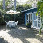 Guest Outdoor Garden area
